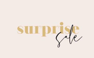 Surprise Sale!!